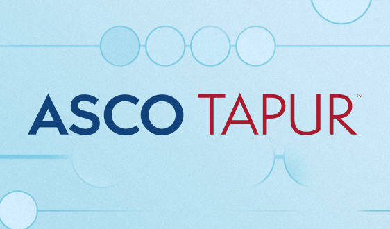 Logo for ASCO's TAPUR study